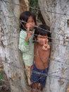 Children begging poverty