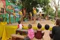 Children during celebrating Children's Day Stock Image