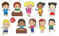Children Clipart Royalty Free Stock Photo