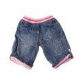 Children denim pants on white background Stock Photos
