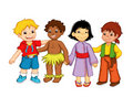 Children and diversity Royalty Free Stock Image