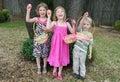 Children Easter Egg Hunt Royalty Free Stock Photo