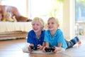 Children having fun at home