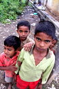 Children of India Stock Image