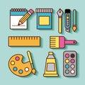 Children instruments draw