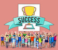 Children Kids Achievement Award Success Accomplishment Concept Royalty Free Stock Photo