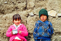 Children of Peru Stock Image