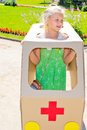 Children play doctor Royalty Free Stock Photo