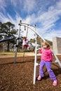 Children at playground Royalty Free Stock Photo