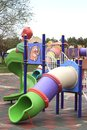 Children playground in a park Royalty Free Stock Photography