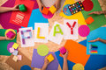 Children playing together Royalty Free Stock Photo
