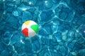 Children's ball in water Stock Image