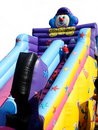 Children's Bouncy Slide Stock Photography