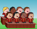 Children's Choir Royalty Free Stock Image