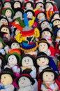 Children's cloth dolls Stock Image