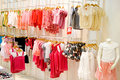 Children's Clothing Shop Royalty Free Stock Photos