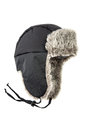 Children's fur cap Royalty Free Stock Photo
