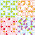 Children's plaid seamless pattern Stock Photography