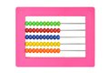 Children's plastic abacus Stock Images