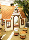Children's Play House: Gingerbread House Royalty Free Stock Images