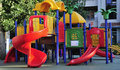 Children's playground Royalty Free Stock Image