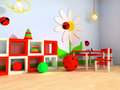 Children's room Royalty Free Stock Photos