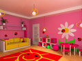 Children's room Royalty Free Stock Images