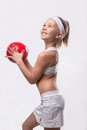 Children's sports - joy and health Royalty Free Stock Photography