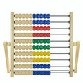 Children's wooden abacus Stock Image