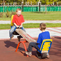 Children on a seesaw Royalty Free Stock Photo