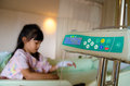Children sick and medical thai in hospital for kid Royalty Free Stock Photo