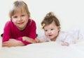Children smile. Royalty Free Stock Photo