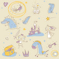 Children story book Royalty Free Stock Photos
