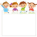 Children and study Royalty Free Stock Photo