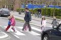 Children in trafic chuildren copenhagen denmark may photo by francis dean dean pictures Stock Photo