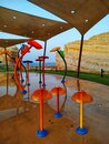 Children water play ground in Muscat Royalty Free Stock Photo