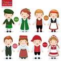 Children of the world (Ireland, Finland, Estonia and Denmark)