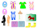 Childrens clothing Stock Photos