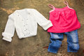 Childrens clothing Royalty Free Stock Photo