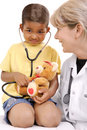 Childrens doctor Royalty Free Stock Image