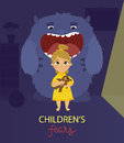 Childrens fears poster