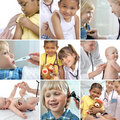 Childrens healthcare Stock Photography
