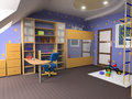 Childroom Stock Afbeeldingen