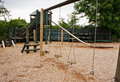 Childs adventure playground Royalty Free Stock Photo