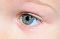 Childs eye. Royalty Free Stock Photo