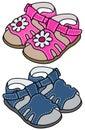 Childs sandals