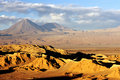 Chilean Atacama Desert Royalty Free Stock Photos