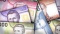 Chilean Peso Background