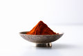 Chili powder in a bowl Stock Images