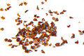 Chili shreds Royalty Free Stock Images